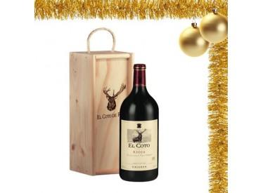 El Coto de Rioja crianza Magnum 2012 + caja de madera