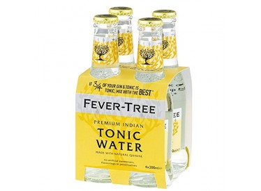 Tonica Water Fever-Tree Premium Indian Pack 4 ampolles
