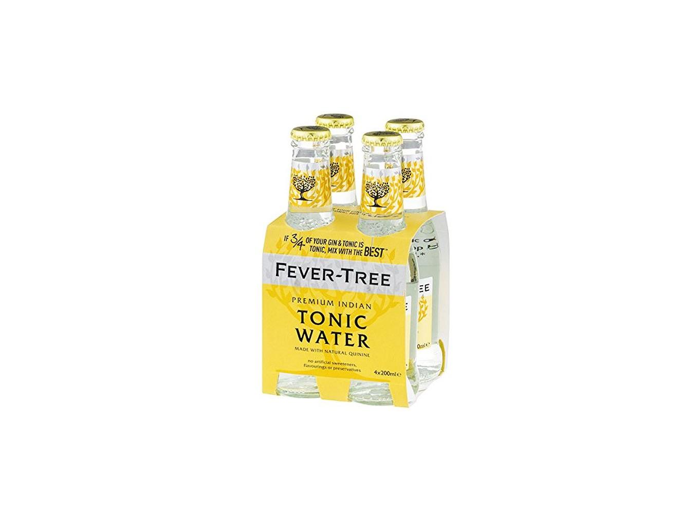 Tonica Water Fever-Tree Premium Indian Pack 4 botellas