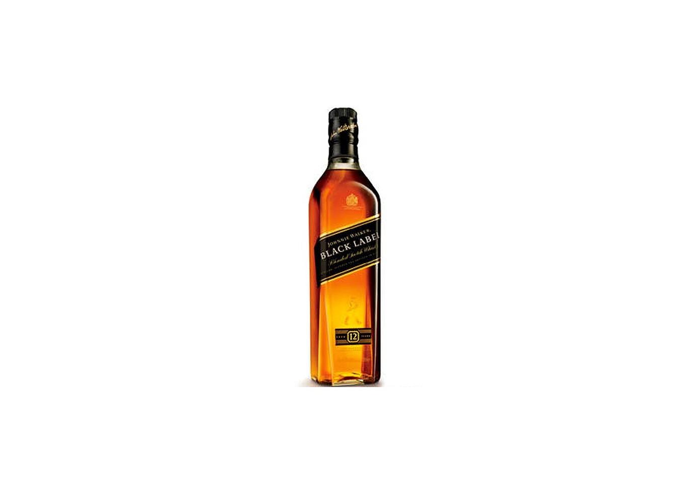 Johnnie Walker Black Lable 12 años formato 1 Litro